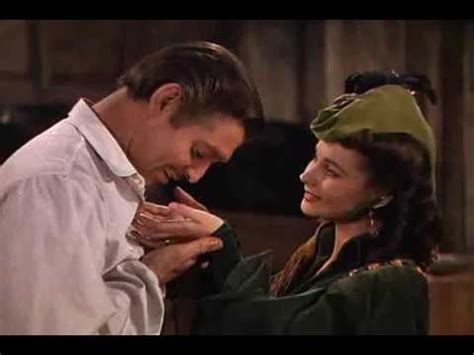 """Gone with the wind -Scarlett and Rhett """"Love you madly"""